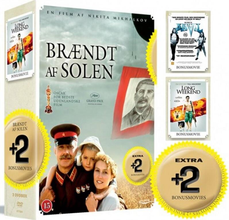 Image of   Anvil // Brændt Af Solen // Long Weekend - DVD - Film