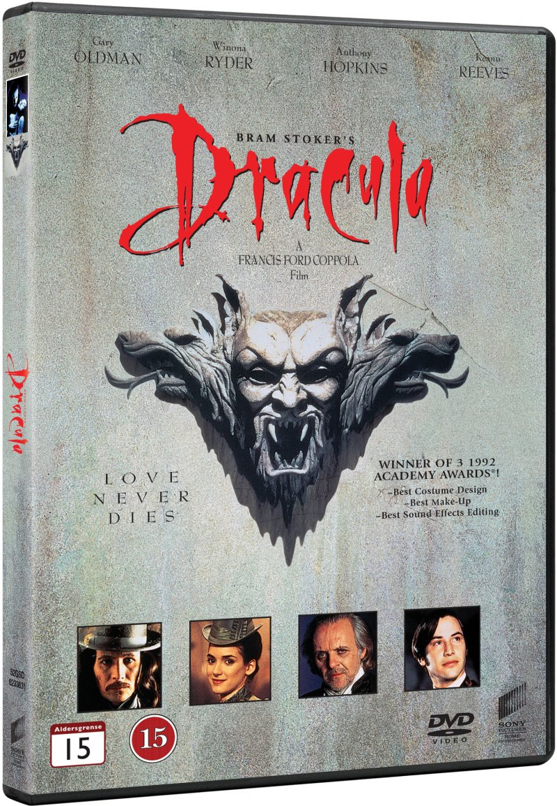 Image of   Bram Stokers Dracula - DVD - Film