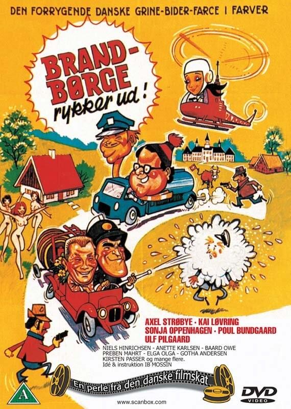 Billede af Brand Børge Rykker Ud - DVD - Film