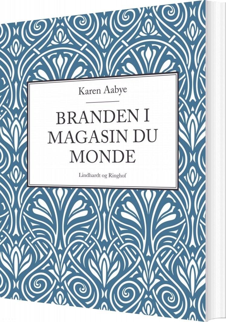Image of   Branden I Magasin Du Monde - Karen Aabye - Bog
