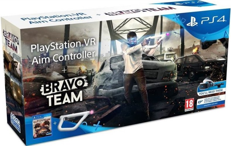 Bravo Team (vr) With Aim Controller - PS4
