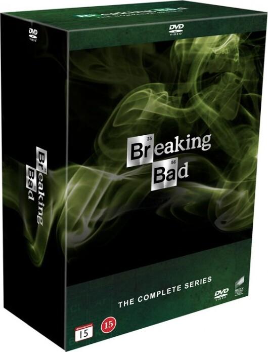 Image of   Breaking Bad Box - Den Komplette Serie I Boks - DVD - Tv-serie