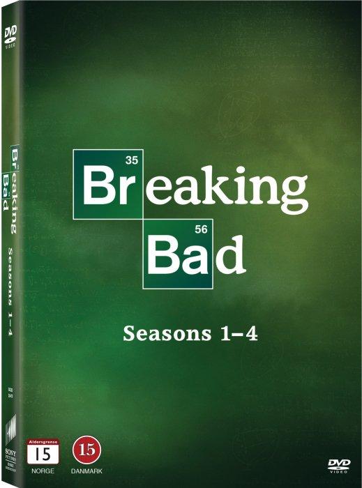 Image of   Breaking Bad - Sæson 1-4 - DVD - Tv-serie