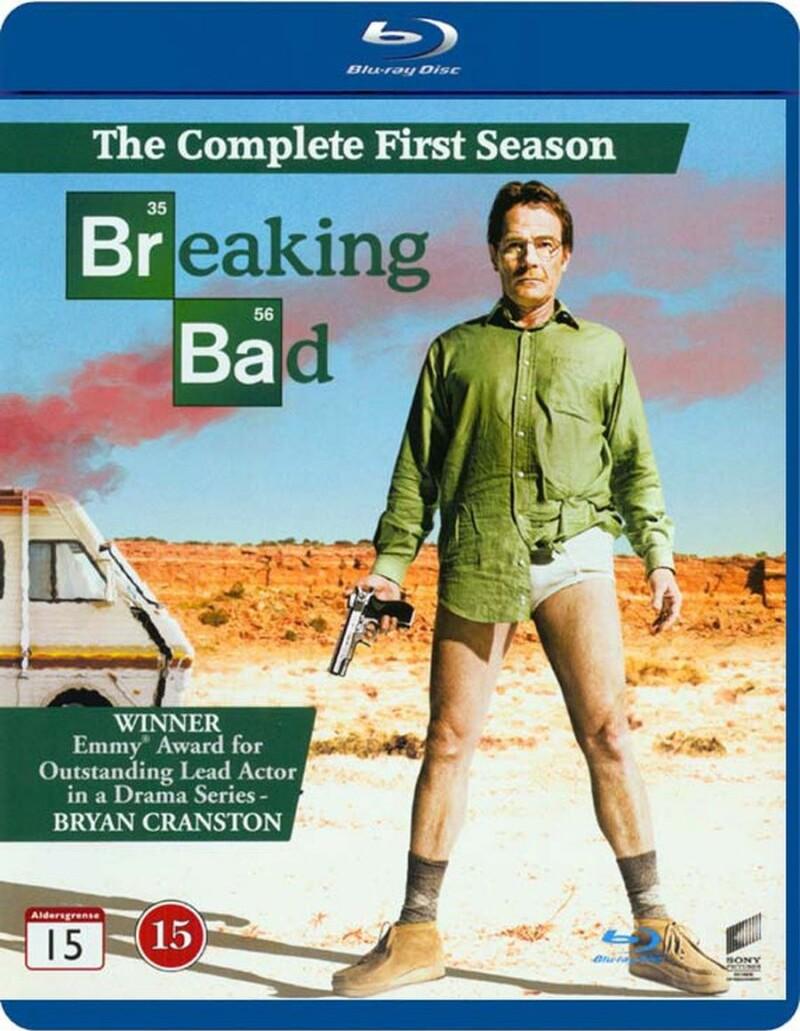 Breaking Bad - Sæson 1 - Blu-Ray - Tv-serie