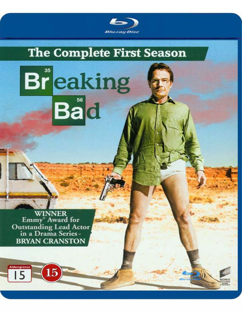 Image of   Breaking Bad - Sæson 1 - Blu-Ray - Tv-serie