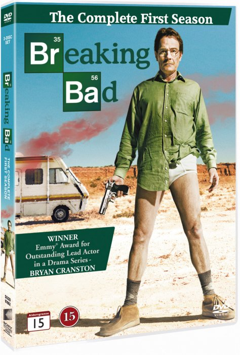 Image of   Breaking Bad - Sæson 1 - DVD - Tv-serie
