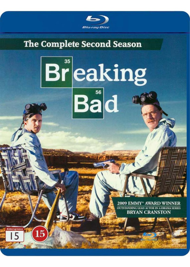 Breaking Bad - Sæson 2 - Blu-Ray - Tv-serie