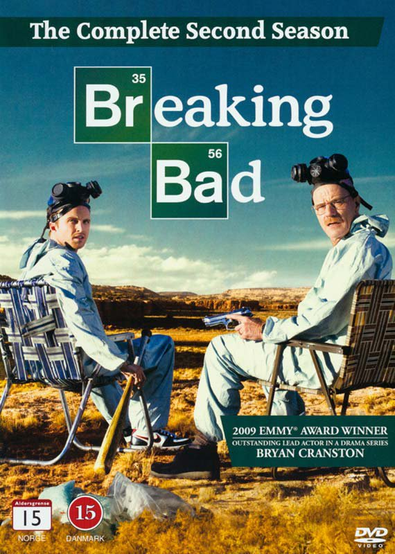 Image of   Breaking Bad - Sæson 2 - DVD - Tv-serie