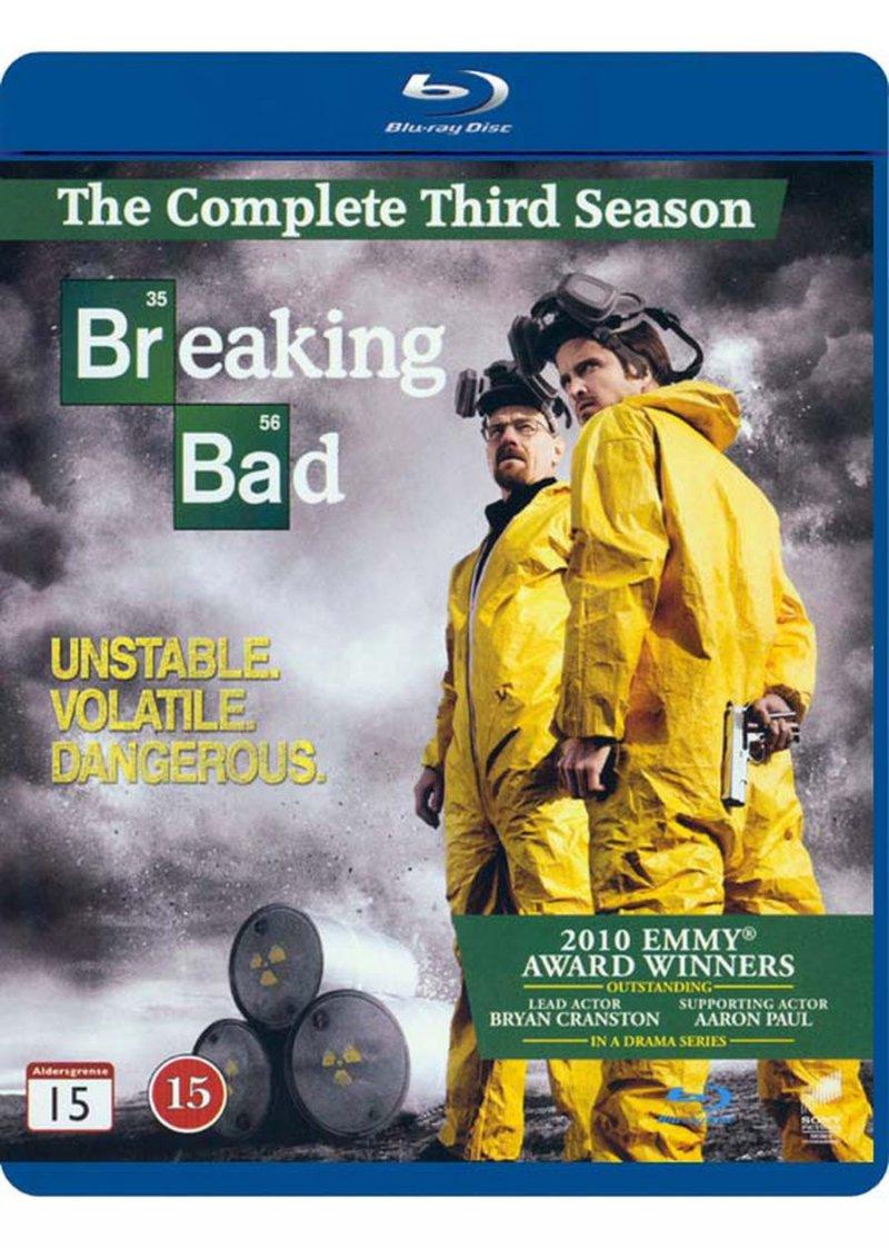 Image of   Breaking Bad - Sæson 3 - Blu-Ray - Tv-serie