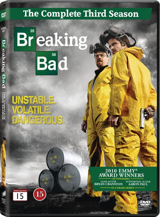 Breaking Bad - Sæson 3 - DVD - Tv-serie