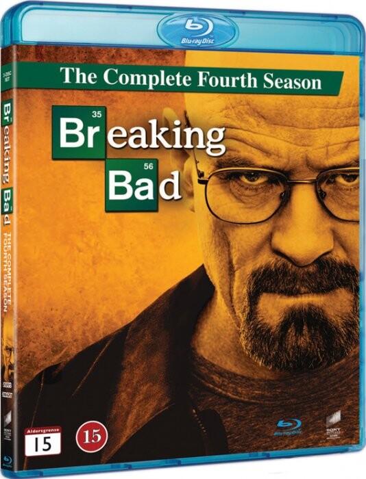 Breaking Bad - Sæson 4 - Blu-Ray - Tv-serie