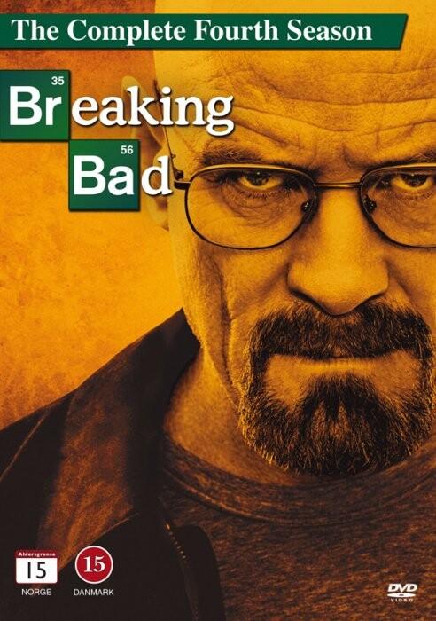 Image of   Breaking Bad - Sæson 4 - DVD - Tv-serie
