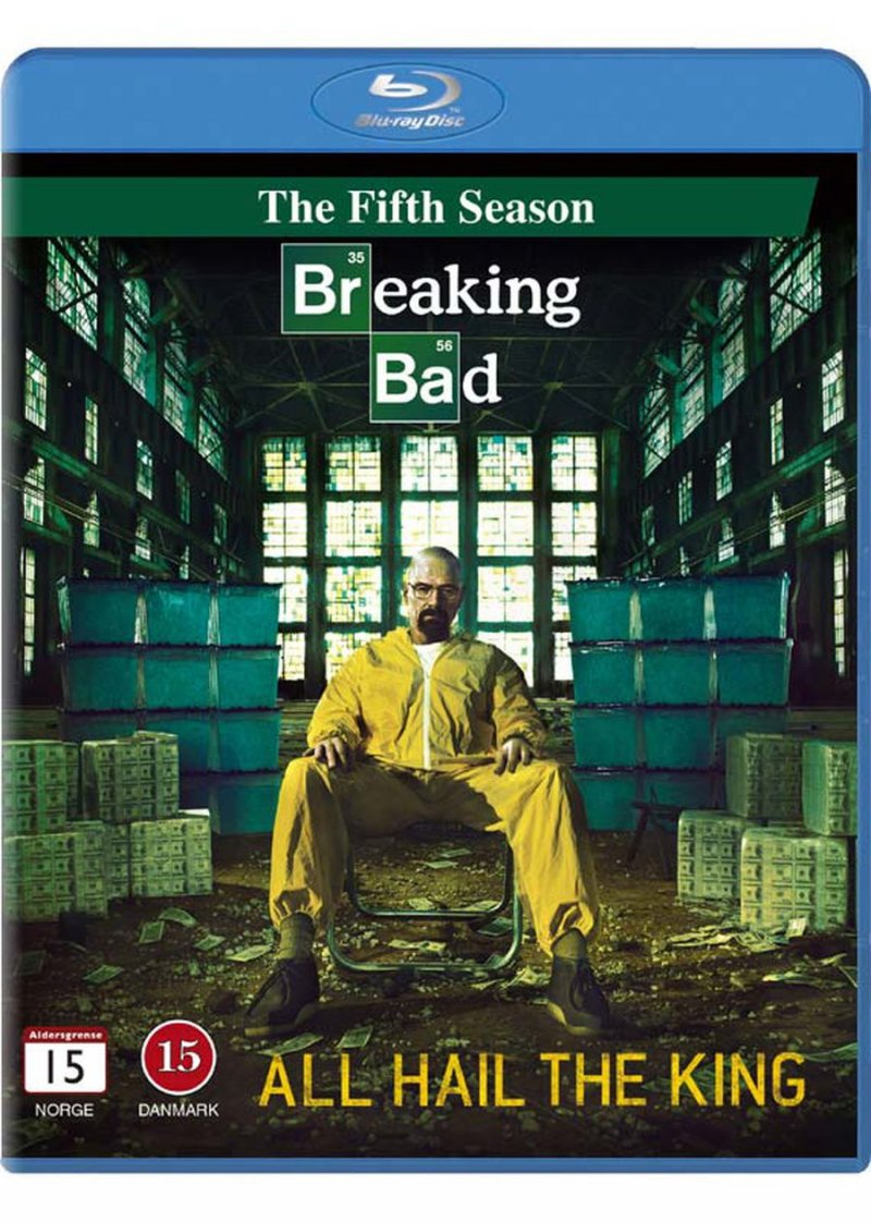Breaking Bad - Sæson 5 - Blu-Ray - Tv-serie