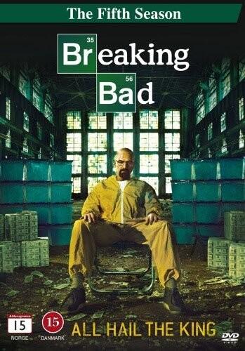 Image of   Breaking Bad - Sæson 5 Del 1 - DVD - Tv-serie