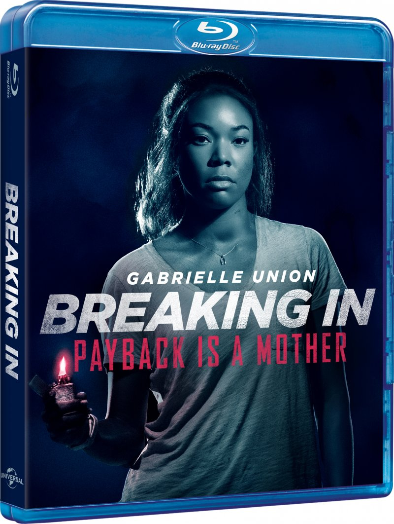 Image of   Breaking In - Gabrielle Union - 2018 - Blu-Ray