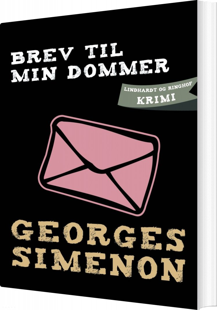 Image of   Brev Til Min Dommer - Georges Simenon - Bog