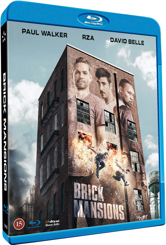 Image of   Brick Mansions - Blu-Ray