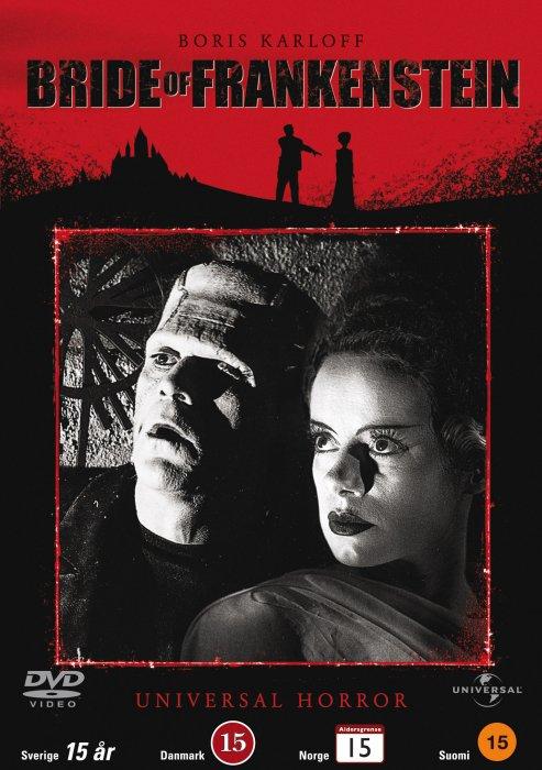 Image of   Bride Of Frankenstein - DVD - Tv-serie