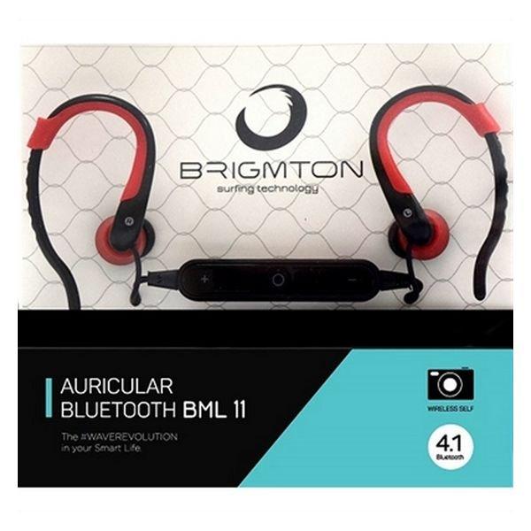 Image of   Brigmton Articular Bml-11-r In Ear Bluetooth Høretelefoner Med Mikrofon I Rød