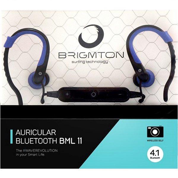 Image of   Brigmton Bml-11-a Bluetooth Sports Høretelefoner Med Mikrofon - Blå