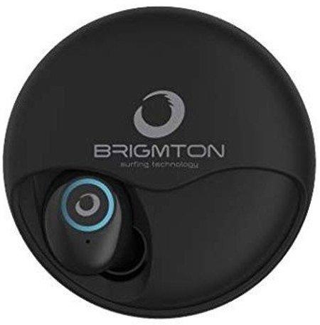 Image of   Brigmton Bml-17 - Trådløs In-ear Bluetooth Høretelefoner Med Mikrofon - Sort