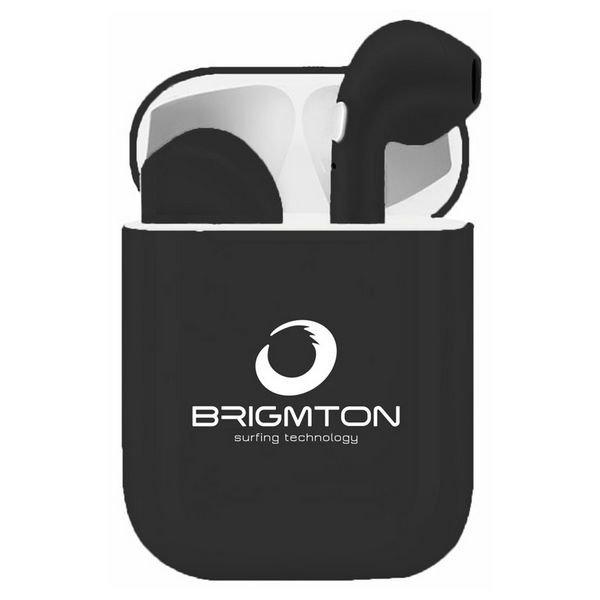 Billede af Brigmton Bml-18 - Ledningsfri Bluetooth Høretelefoner Med Mikrofon - Sort