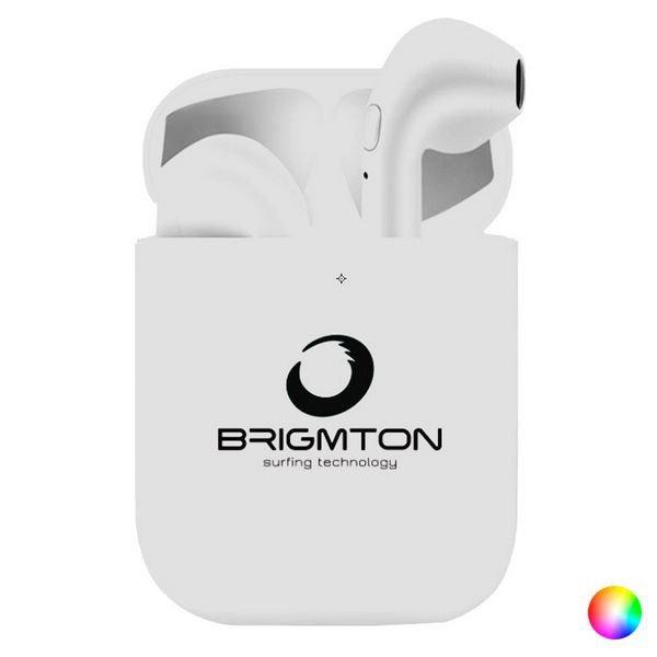 Billede af Brigmton Bml-18 - Ledningsfri Earbud Høretelefoner Med Opladningsetui - Hvid