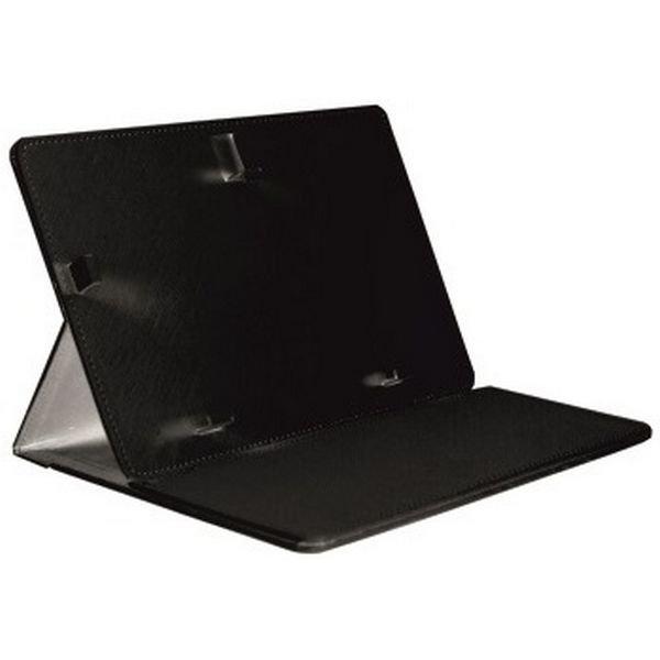 """Image of   Brigmton - Universel Tablet Cover Og Holder - 7"""" - Læder - Sort"""