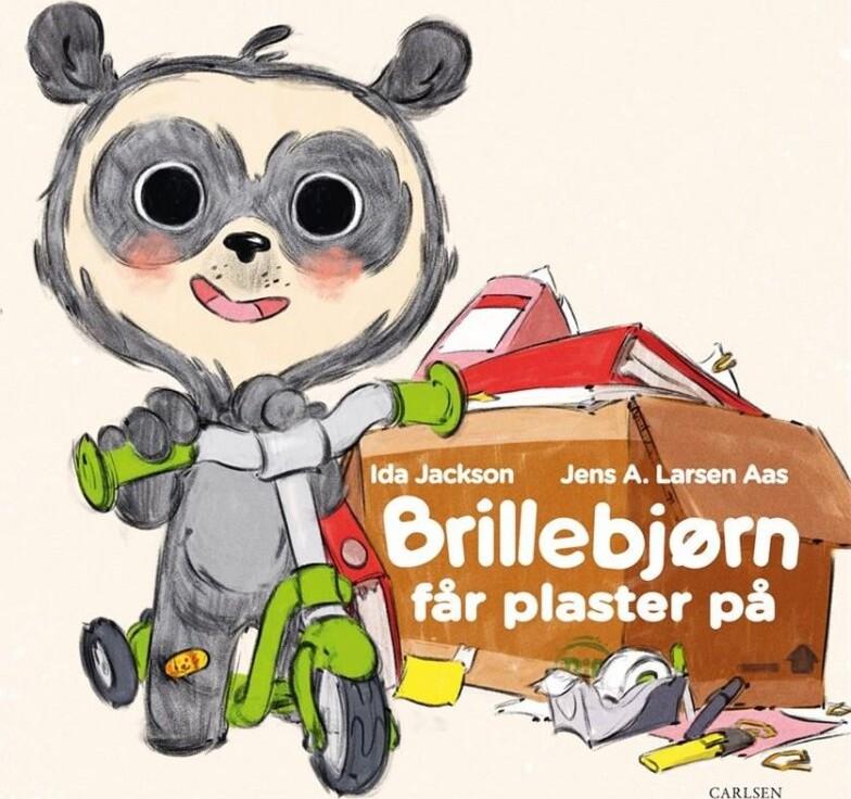 Image of   Brillebjørn Får Plaster På - Ida Jackson - Bog