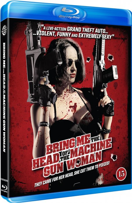 Image of   Bring Me The Head Of The Machine Gun Woman - Blu-Ray