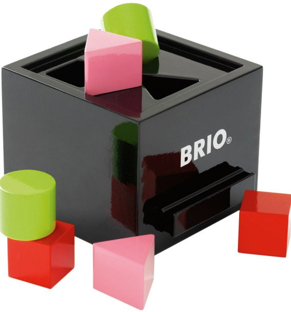 model 30144, sorting box, brio put i kasse, brio put i boks