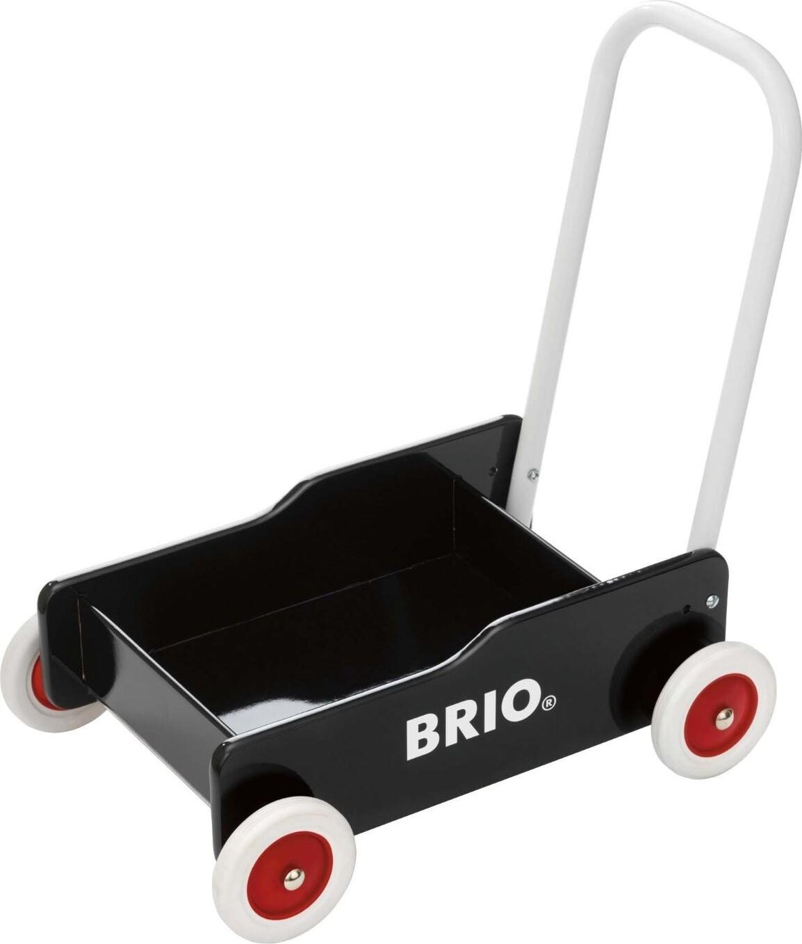 Brio Gåvogn I Træ - Sort