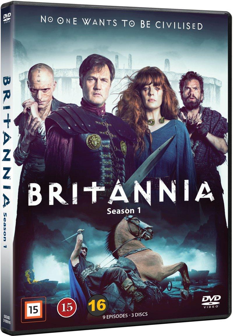 Image of   Britannia - Sæson 1 - DVD - Tv-serie