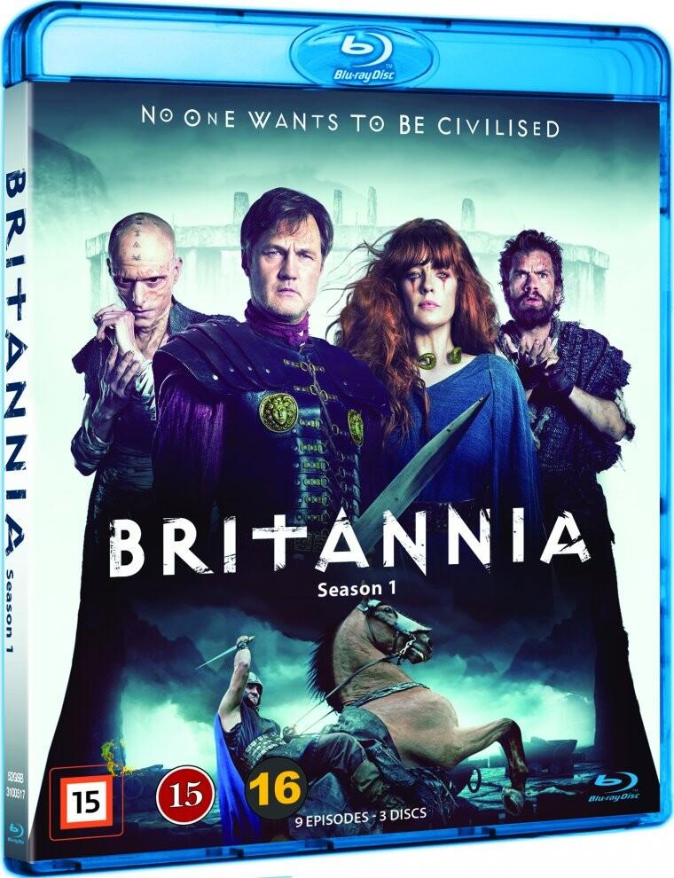 Britannia - Sæson 1 - Blu-Ray - Tv-serie