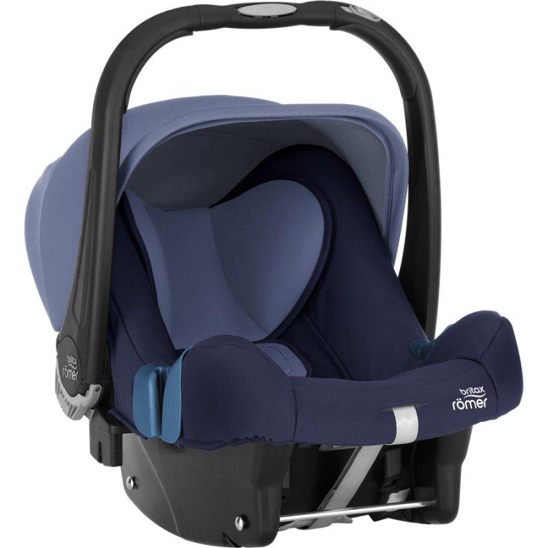 Image of   Britax Römer Autostol - Baby-safe Plus Shr Ii 0-13 Kg - Moonlight Blue