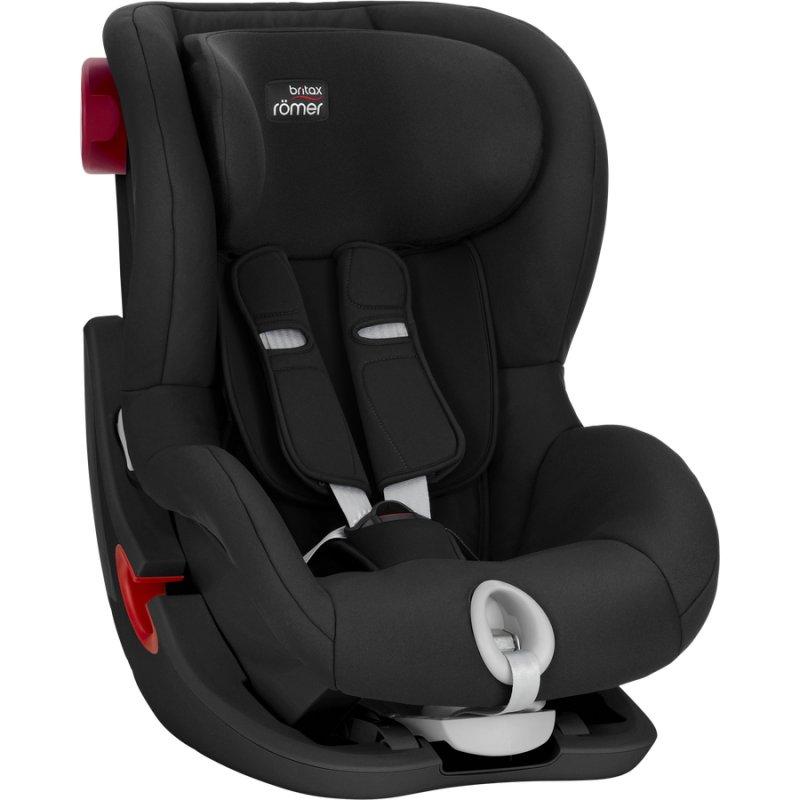 Image of   Britax Römer Autostol - King Ii Black Series Car Seat 9-18kg - Cosmos Black