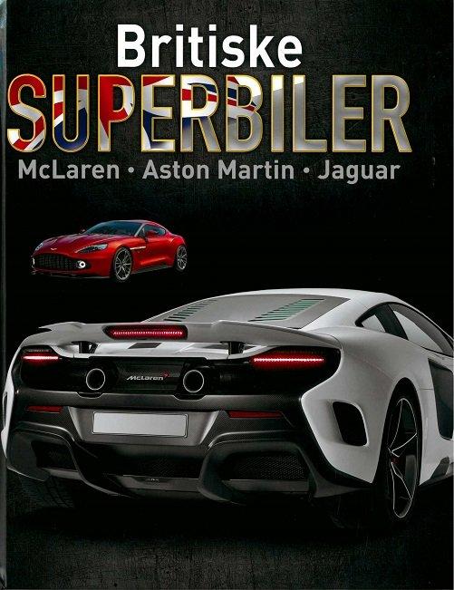 Image of   Britiske Superbiler - Paul Mason - Bog