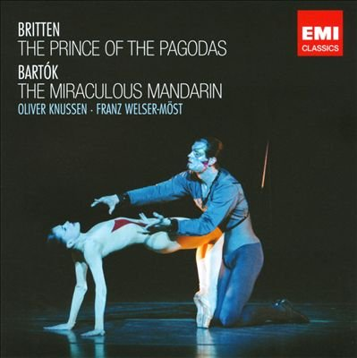 Image of   Britten - The Prince Of The Pagodas: Bartók: The Miraculous Mandarin - CD