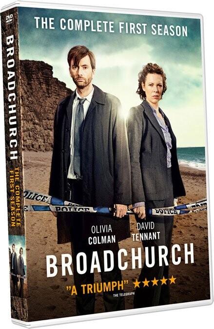 Image of   Broadchurch - Sæson 1 - Bbc - DVD - Tv-serie