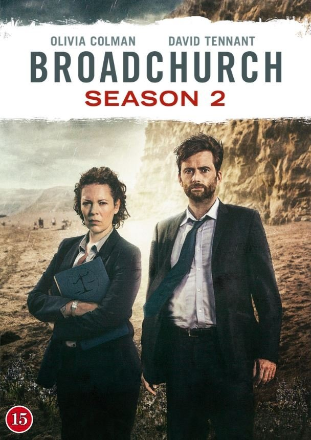 Image of   Broadchurch - Sæson 2 - Bbc - DVD - Tv-serie