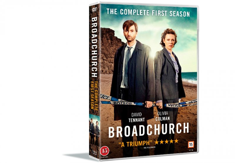 Image of   Broadchurch - Sæson 1 - DVD - Tv-serie