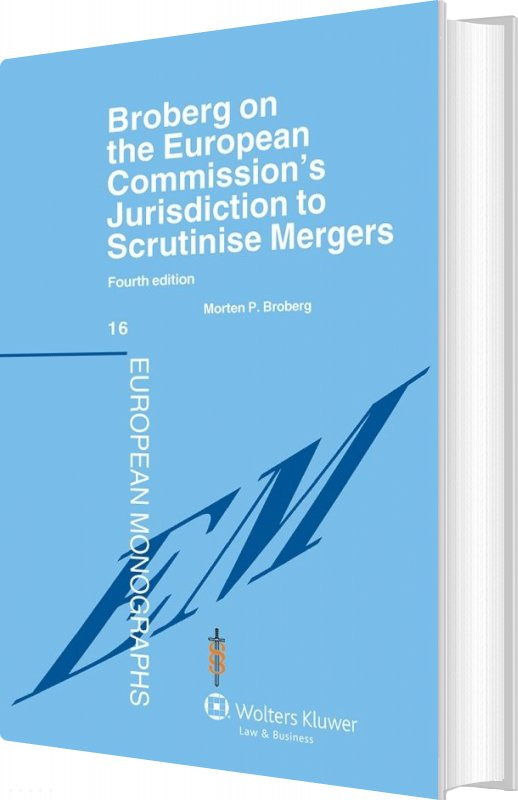 Billede af Broberg On The European Commissions Jurisdiction To Scrutinise Mergers - Morten P. Broberg - Bog
