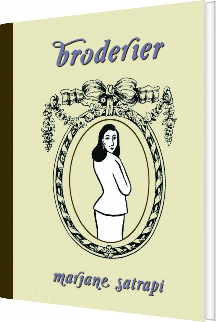 Image of   Broderier - Marjane Satrapi - Tegneserie