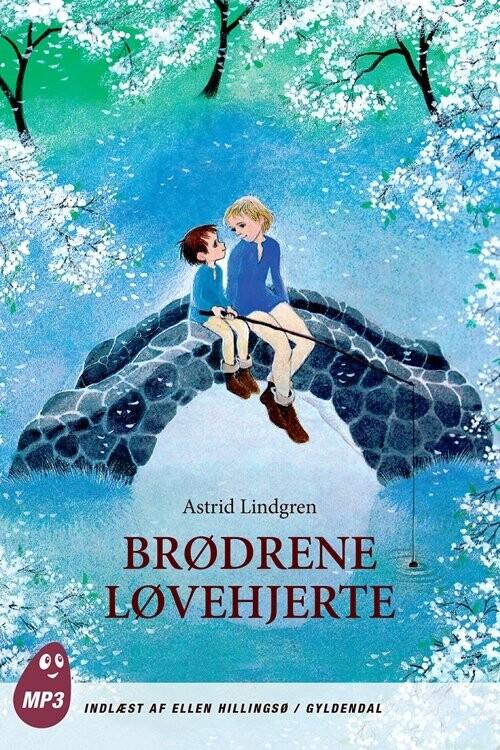Image of   Brødrene Løvehjerte - Mp3 - Astrid Lindgren - Cd Lydbog