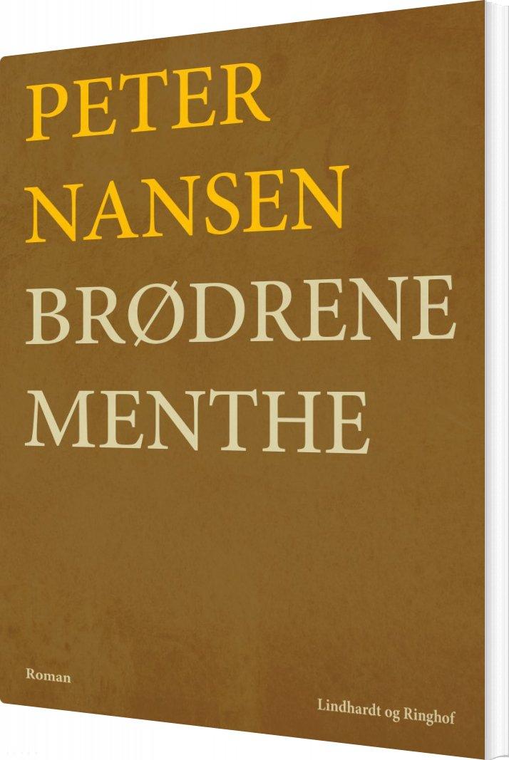 Brødrene Menthe - Peter Nansen - Bog