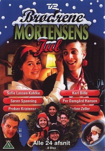 Brødrene Mortensens Jul - Tv2 Julekalender - DVD - Tv-serie