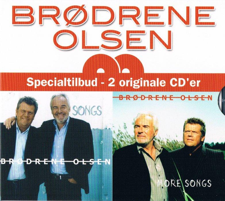 Image of   Brødrene Olsen - Songs And More Songs - CD
