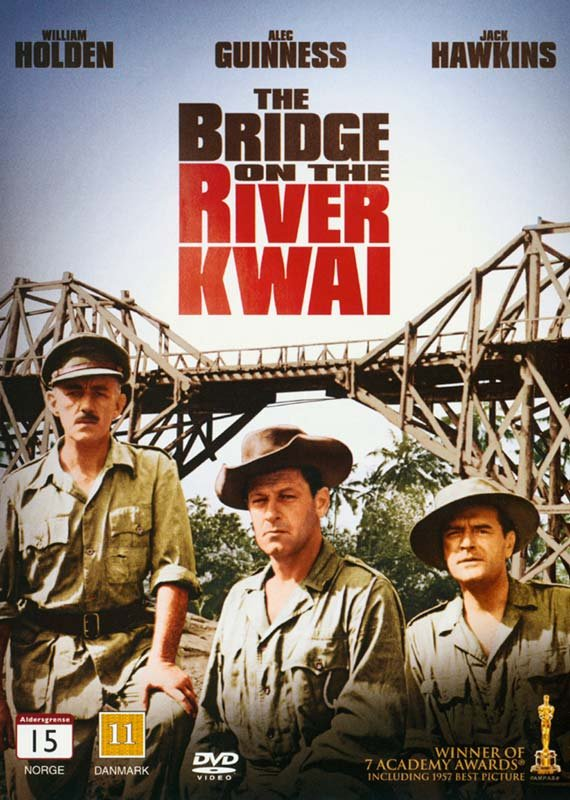 Image of   Broen Over Floden Kwai / The Bridge On The River Kwai - DVD - Film