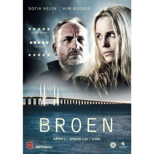 Image of   Broen - Sæson 1 - DVD - Tv-serie