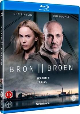 Image of   Broen - Sæson 2 - Blu-Ray - Tv-serie